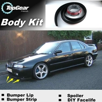 Bumper Lip Deflector Lips For Rover 600 Series Front Spoiler Skirt For TG Friends to Car Tuning View / Body Kit / Strip
