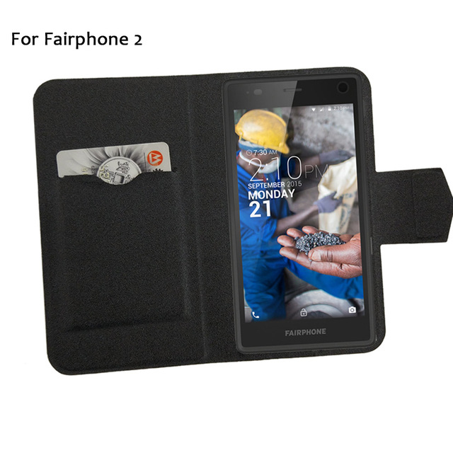 quality design e6c90 25860 US $3.65 15% OFF|5 Colors Super! Fairphone 2 Case Leather Full Flip Phone  Cover,2017 High Quality Luxurious Phone Accessories On Sale-in Flip Cases  ...
