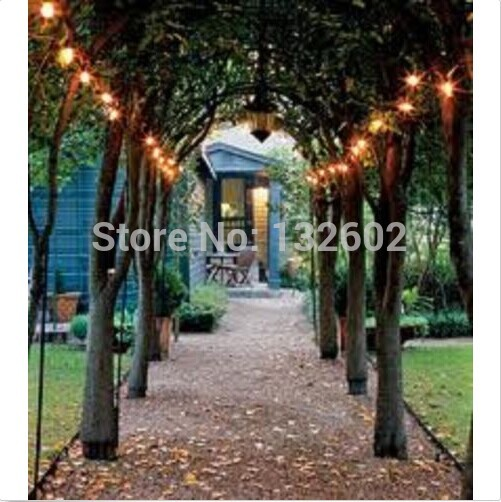 Warm white solar powered 100 lights led outdoor garden christmas warm white solar powered 100 lights led outdoor garden christmas string party fairy lights lamp decoration mozeypictures Images