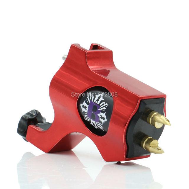 Venta caliente de Alta Calidad Motor Rojo Obispo de Precisión Rotary Máquina de Tatuaje De Shader del Trazador de 6 Colores Para Elegir El Envío Libre