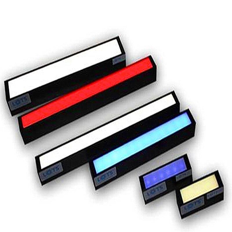 Éclairage de détection et de reconnaissance de source de lumière LED de vision industrielle plaque de diffusion de lumière rouge éclairage industriel 360*32mm
