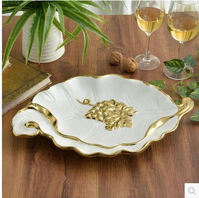 European Food Container Luxury Ceramic Fruit Plate Dishes And Plates & Luxury Dinner Plates - Home Decorating Ideas \u0026 Interior Design