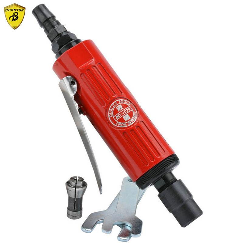 Borntun 3mm 6mm Chuck Pneumatic Air Die Grinder Grinding Polishing Burnishing Buffing Lapping Tool Device Mould Die Metalworking pneumatic air reciprocating file body saw tool pneumatic reciprocation filing buffing polishing grinding machine air power tools