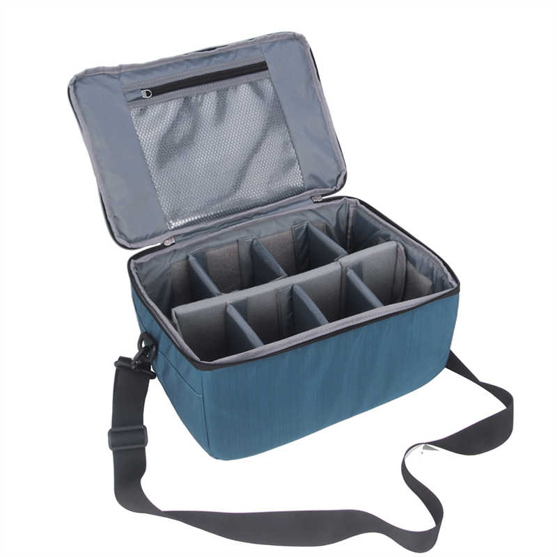 Universal Portable Nylon DSLR Partition Padded Camera Bag Insert Case Divider Waterproof Built-in Insert Camera Case Bags