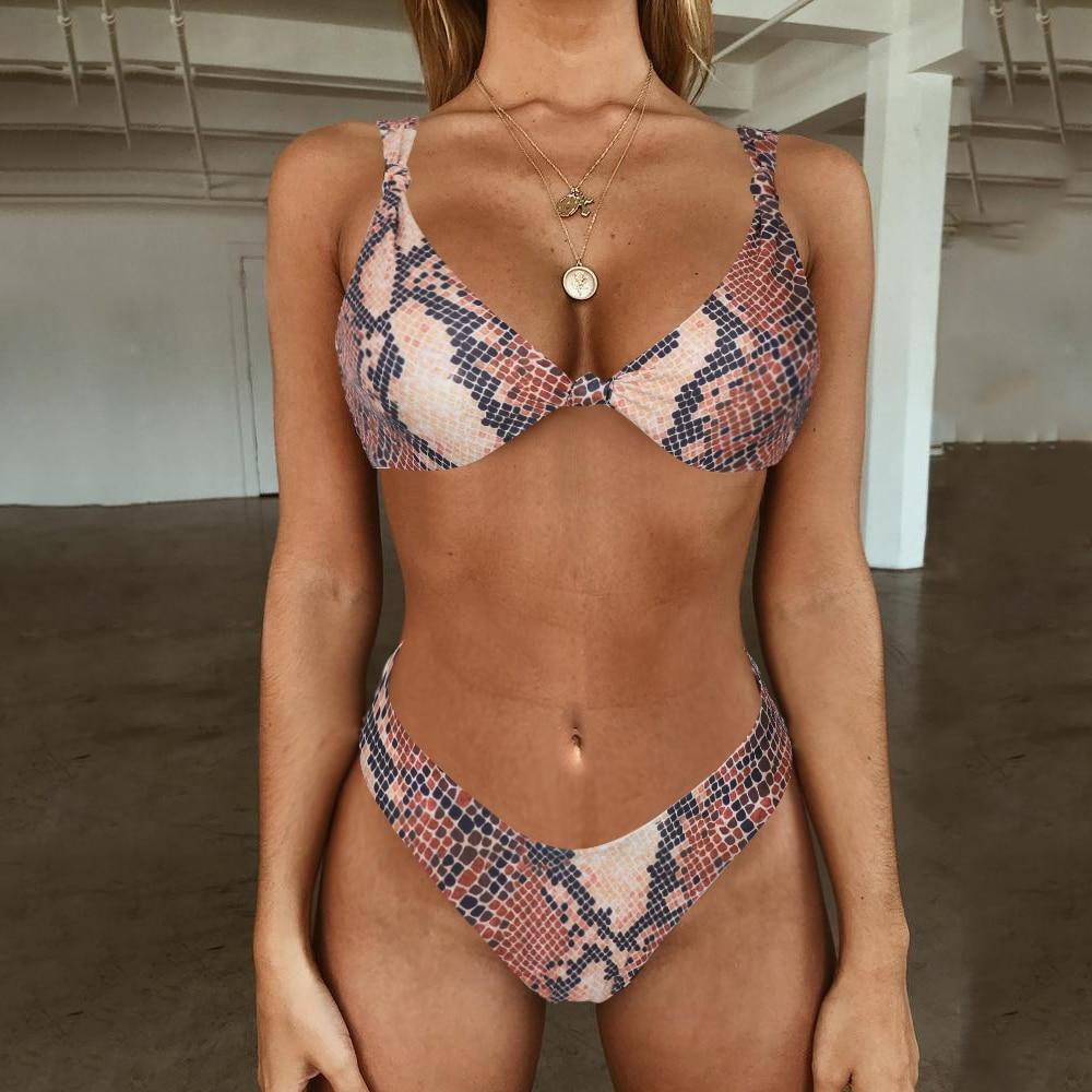 Brazilian Bikini 2019 Sexy Swimsuit Swimwear Women Bikinis Set Push Up Thong Biquini High Cut Swimming Bathing Suits Beachwear