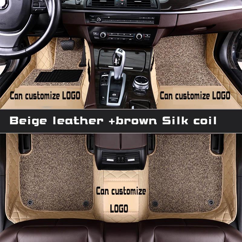 Tapis de sol de voiture pour toyota prado 120 90 95 2015 accessoires toyota land cruiser prado 120 150 3d tapis de sol personnalisés pour voitures prado - 6