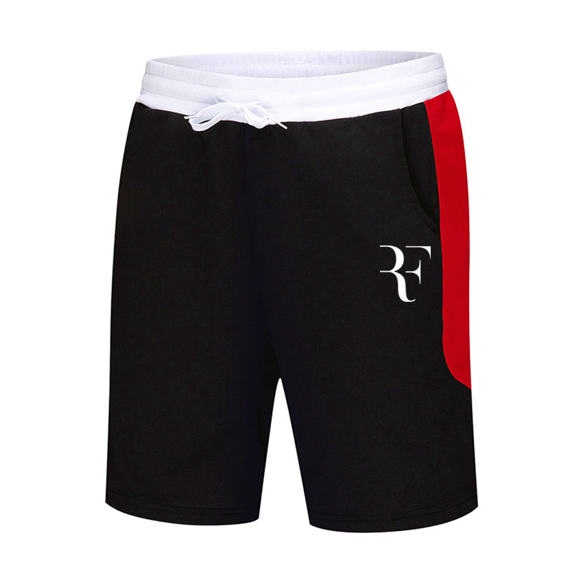 2019 new Roger Federer RF men's and women's brand   shorts   cotton casual loose   shorts   men's clothing hip hop fitness   shorts