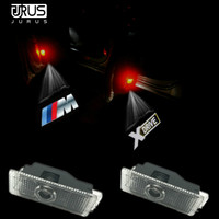 JURUS 2 X LED For BMW Car Door Welcome Light E90 E60 E63 E64 E65 E86