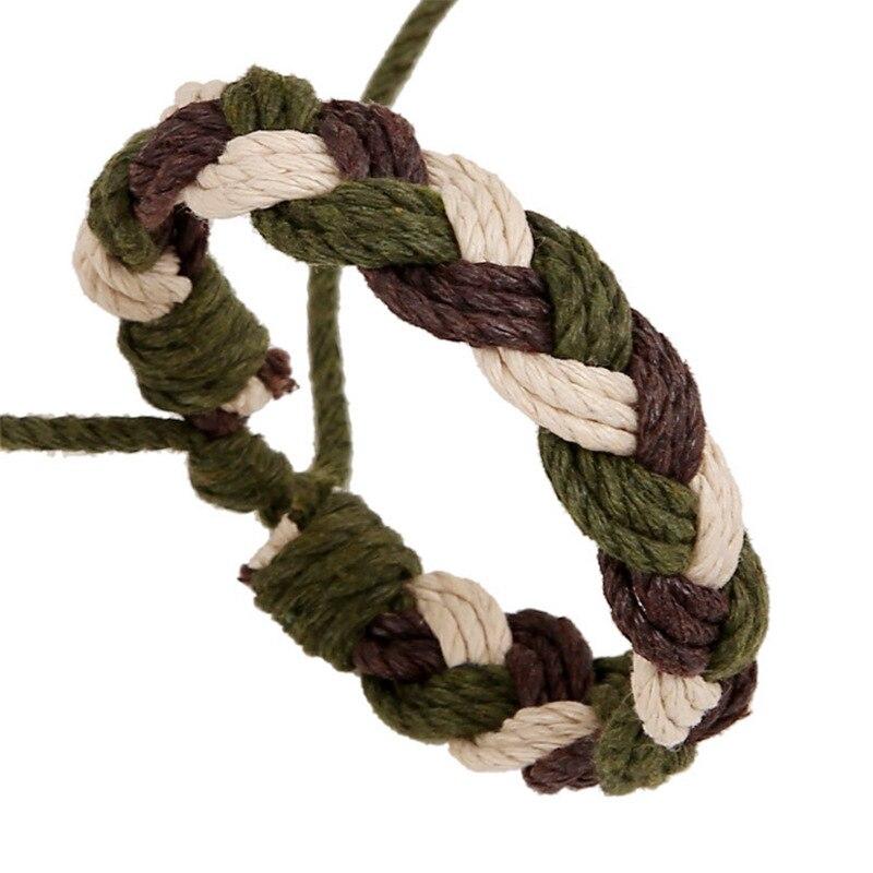 Handmade Hemp Rope Woven Bracelet Student Hand Chain 2019 New Men And Women Simple Wholesale