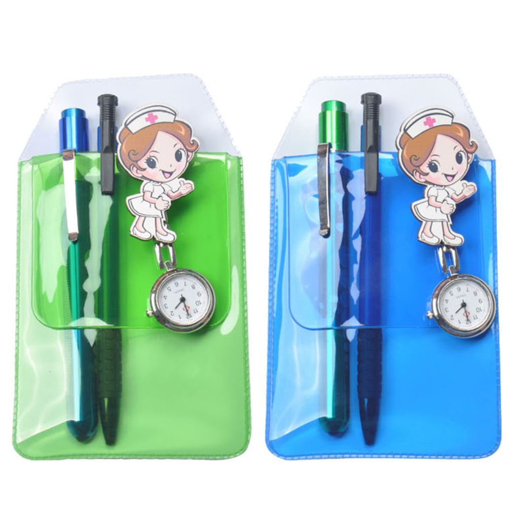 Candy Color Prevent Leaks Ink school Pencil Case Profession Multifunction Medical Staff Efficient Finishing Pen Hanging Penalty