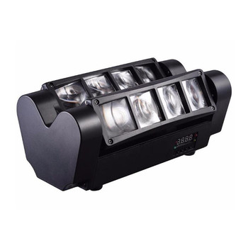 High Quality 8X10W Mini LED Spider Light DMX512 LED Moving Head Light RGBW LED Beam Club Dj Disco Stage Lighting KTV Lamp