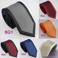 De YIBEI Coachella Corbatas Corbata De Lunares Puntos Frontera Lazos de Los Hombres de Moda de Microfibra 8.5 cm Corbata Formal de la Boda Jacquard tejido