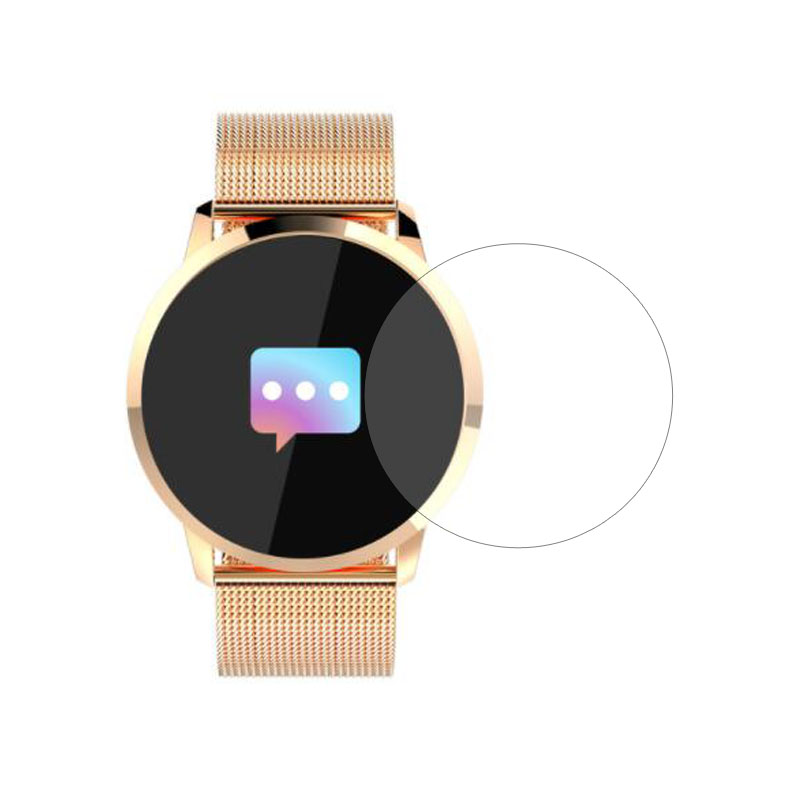 Smartwatch Tempered Glass Protective Film Ultra Clear Guard For Q8 Smart Watch Toughened LCD Display Screen Protector Cover
