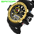 Brand SANDA Fashion Led Digital Watch Sports Military Watches G Style Waterproof S-Shock Mens Electronic Watch relogio masculino