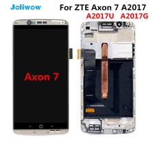 Tested! AMOLED For ZTE Axon 7 A2017 A2017U A2017G lcd Display Touch Screen Digitizer Aseembly Replacement  LCD