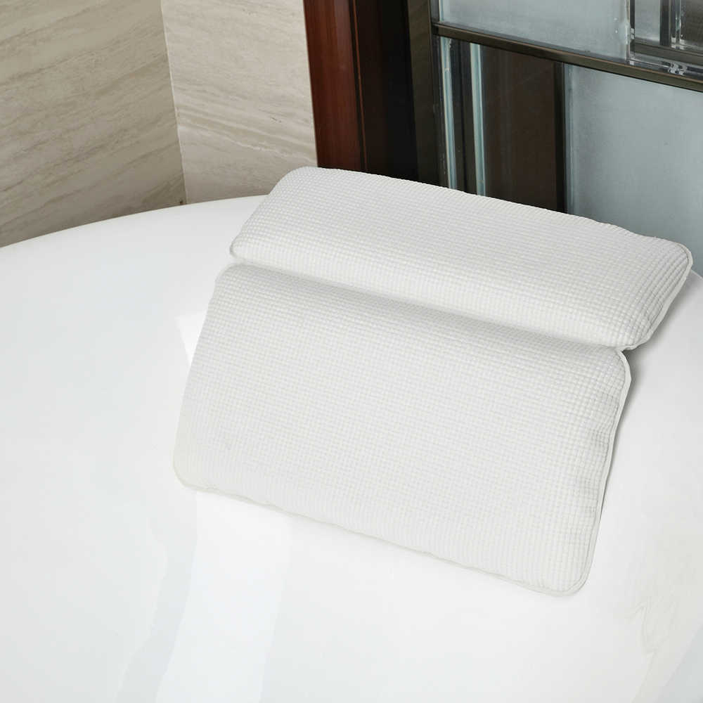 Waterproof SPA Bath Cushion Bathtub Pillows Spa Supplies Bath Headrest Pillows For Bathtub Bath Tub Pillow Hot Tub Pillows