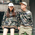 VIISHOW Camouflage Men and Women Hoodie Lover Sweatshirt Casual Long Pullover Men Clothing Fashion Suits WDY1463