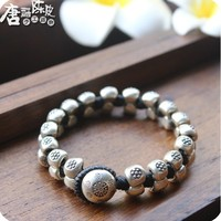 Of The Department Of Thailand Pure Handmade 990 Feet Intime Bracelet Punk Rock Cool High