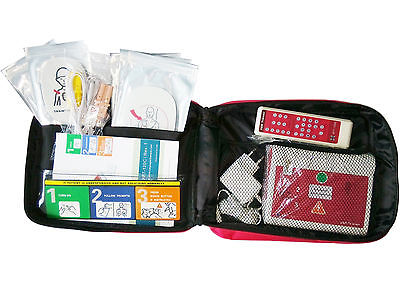 New Automatic External Defibrillator Simulator Trainer AED Training Machine For Fist Aid CPR Practice In English