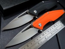 High quality MDF-2 folding knife D2 blade + G10 handle folding Fixable knife camping outdoor tool knives