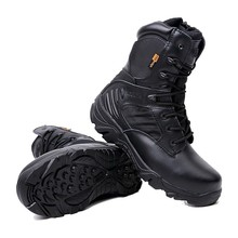 Men's Outdoor Desert Military Combat Hiking Boots Shoes Men Army Tactical Camping Sports Shoes Trekking Boots