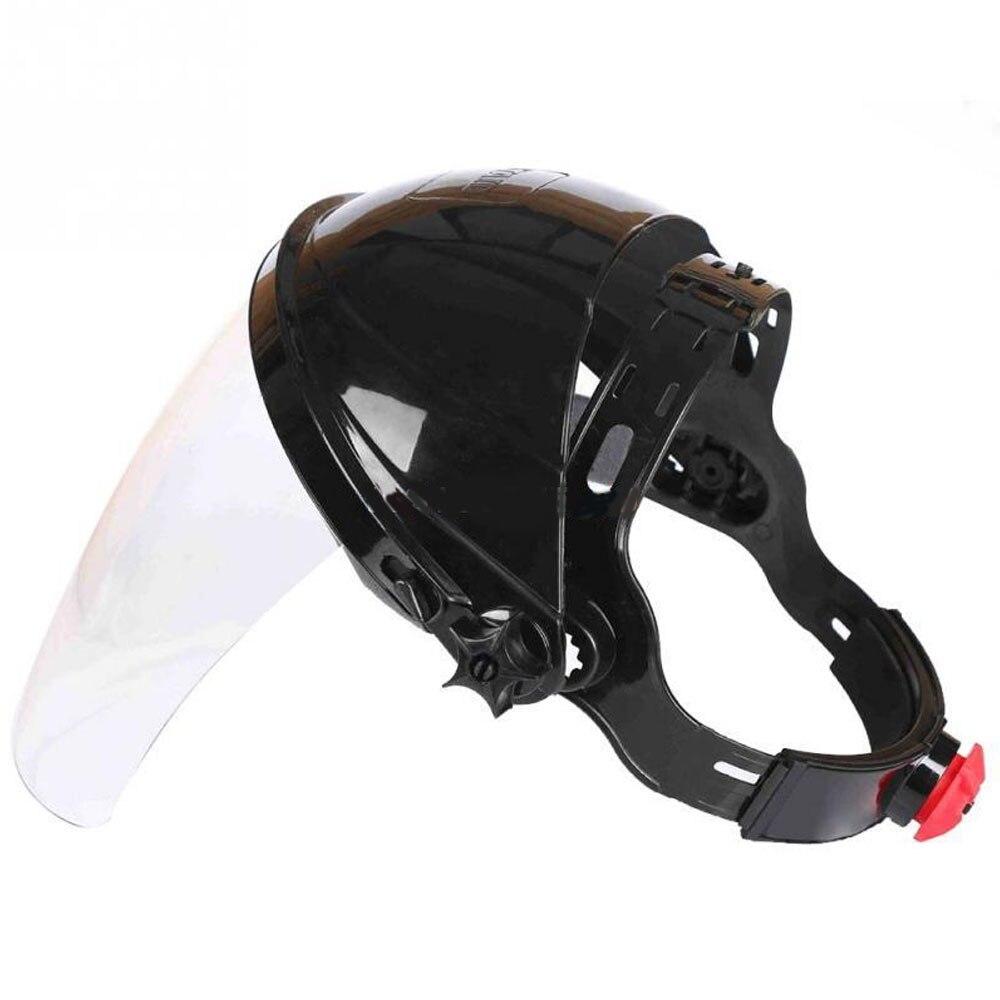 Clear Grinding Solder Mask Safety Face Shield Screen Mask Half Helmet Household  Helical Welding Helmet For Welding
