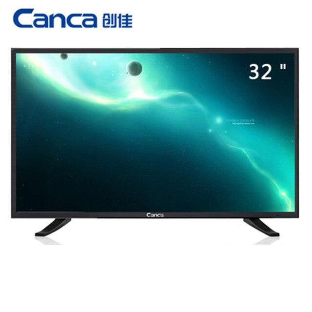 32 inch 1080 P TV đa phương tiện HD LED LCD TV màn hình Hiển Thị Đầy Đủ HD HDMI/USB/AV/ RF/VGA LED TV Hỗ Trợ TV BOX