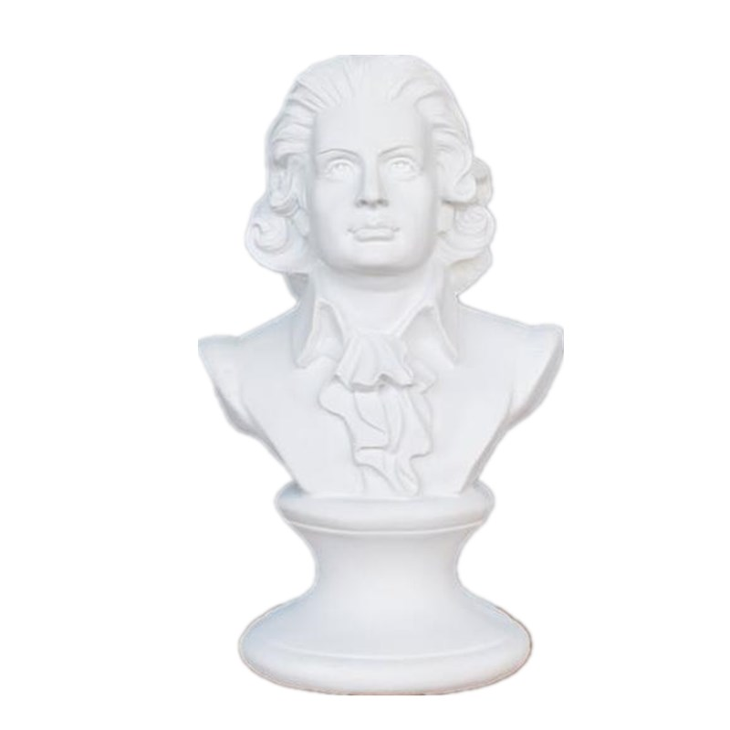 Musician Music Beethoven Mozart Figurine Art Sculpture Western Classical Statue Resin Art&Craft Home Decoration R466