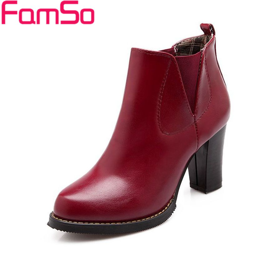Plus Size34 43 2016 New Sexy font b Women b font Autumn Riding Boots High Thick