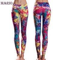 We Only Sell High Quality Italian Printing Technology Women Graffiti Permeability Yoga Pants Running Pants Gym