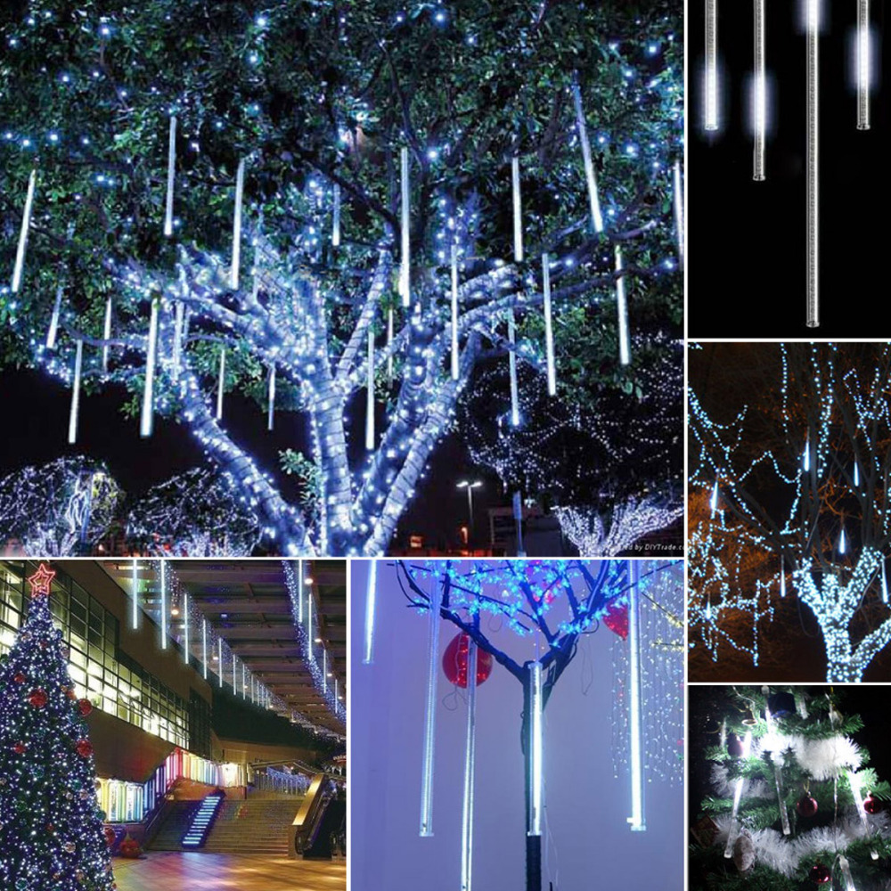 Buy 1 pc 2016 christmas 50cm meters tubes snowfall light fairy string led - Garden decor stores ...