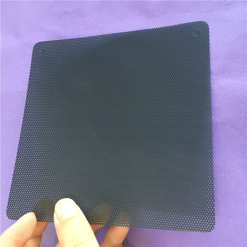 5PC ST055Y 12CM Dust-proof Net Computer Case Fans PVC Dust Gauze Dust Filter Cuttable Mesh Filtering Tools High Quality On Sale