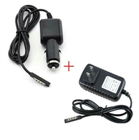 EU US Plug AC DC Home Travel Cord Car Charger Power Supply Adapter For Microsoft Surface