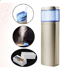 Upgraded Version High Quality Facial Beauty Moisturizing USB Rechargeable 17ML Water Tank Handy Face Nano Spray Mist