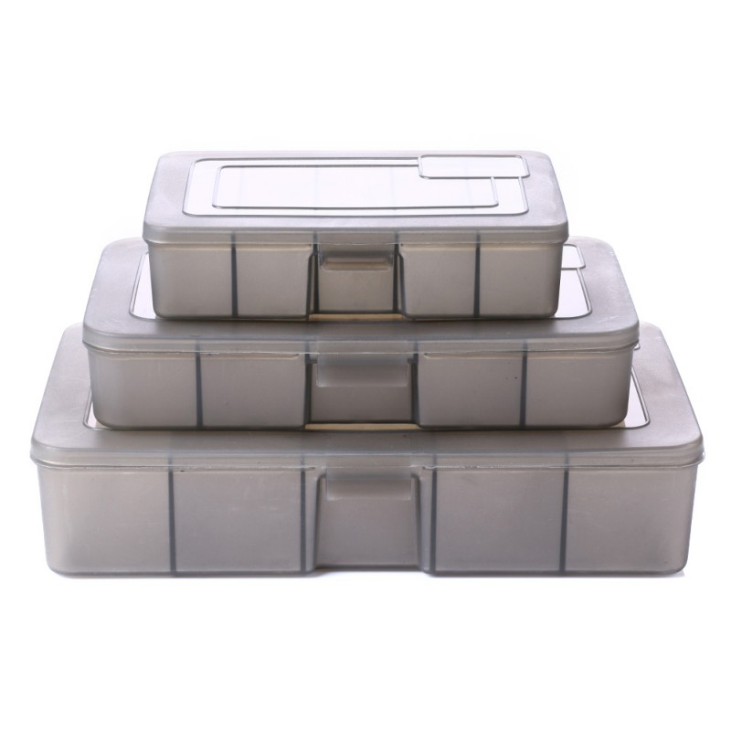 12 Compartment Fishing Lures Tackle Hooks Baits Storage Box Small accessories