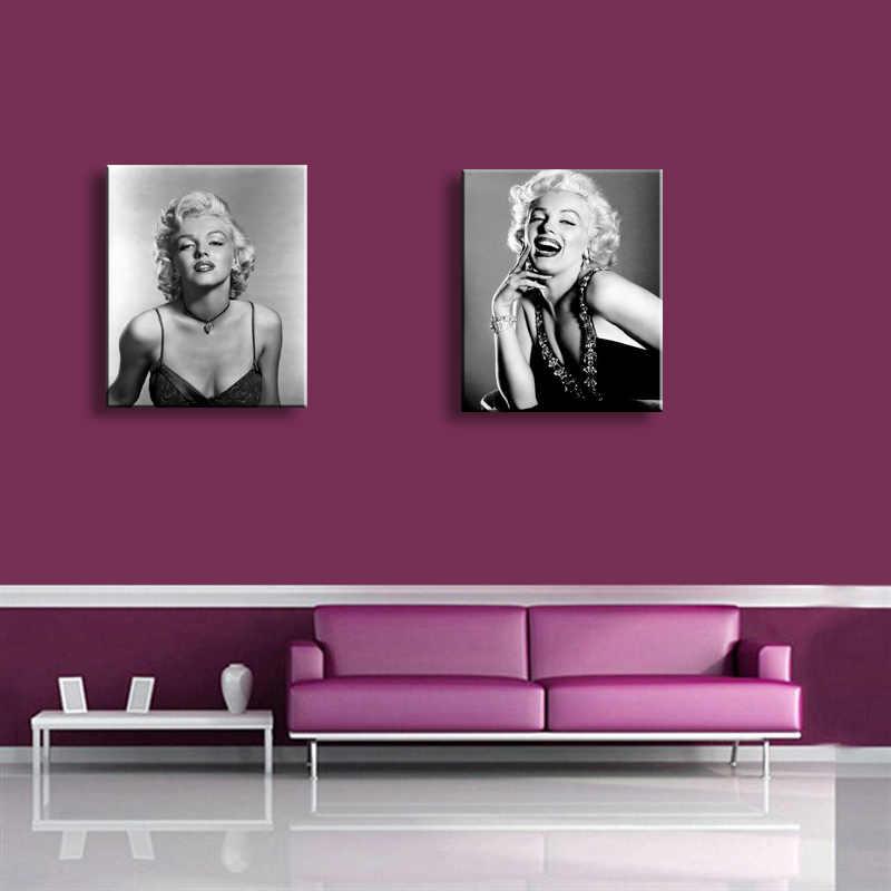 جدارها صورة عالية الوضوح الطباعة مارلين مونرو الرئيسية الديكور الفن صورة زيت على قماش ، اللوحة ، JHT1-001