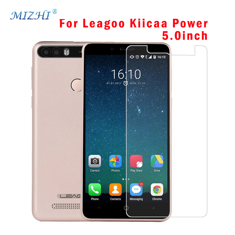Tempered Glass For Leagoo Kiicaa Power Screen Protector 2.5d 9H Premiun Protective Film Case For Leagoo Kiicaa Power Phone Glass