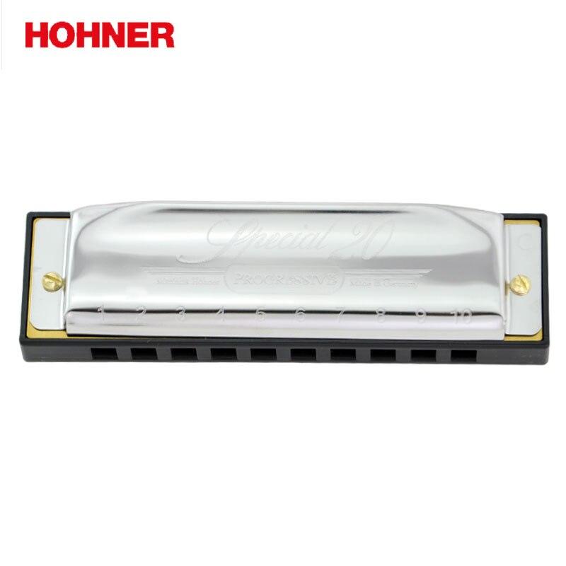 Hohner Special 20 10 Hole Diatonic Harmonica Gaita Standard 10 Hole Diatonic Harmonica Blues Harp, Major C,D,E,F,G,A