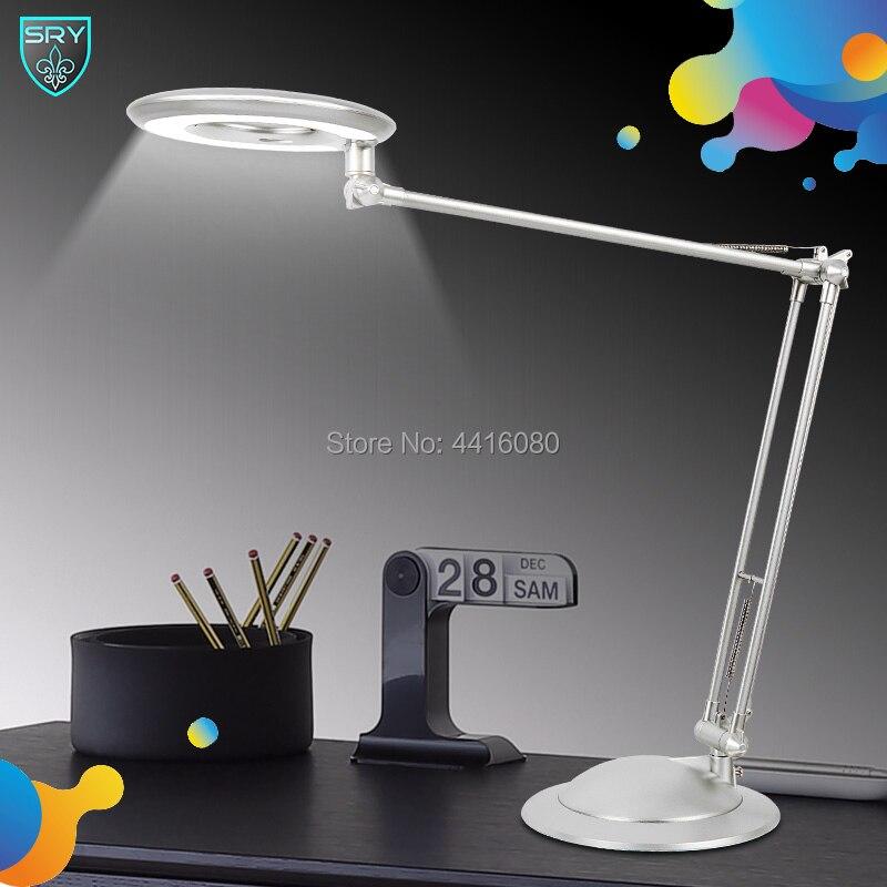 SQ-LD520office vêtements de protection étudiant lampes de lecture mode lumières Livraison rotation Angle Couleur différente 10 W 4000 K Offre led lampe de bureau