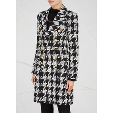 EXCELLENT QUALITY 2020 Stylish Designer Blazer Coat for Women Double Breasted Lion Buttons
