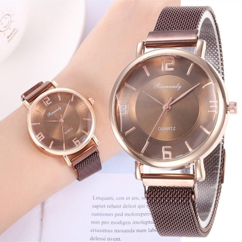 Hot Selling Women Fashion Magnet Buckle Starry Sky Bracelet Watch Luxury Ladies Gift Quartz Clock Relogio Feminino Dropshipping