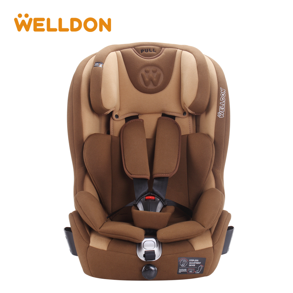 Welldon Child Safety Seat Isofix Interface Flame Retardant Group 1/3 (9-36 kg ) Baby Car Seat Suitable For 9 Months To 12 Years whole sale baby safety car seat 4 colors age range 2 10 years old baby car seat for kid active loading weight 9 30 kg baby seat