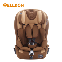 Welldon Child Safety Seat Isofix Interface Flame Retardant Group 1/3 (9 36 kg ) Baby Car Seat Suitable For 9 Months To 12 Years