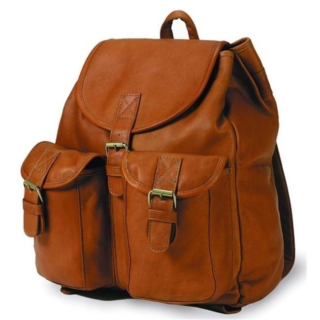 Clava 3226 Drawstring Backpack - Vachetta Tan clava 709 hip to be square backpack vachetta cafe