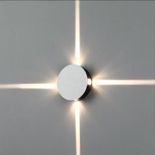 Moderno de alta potencia 4 w led wall sconce luz arribaabrigos de moderno de alta potencia 4 w led wall sconce luz arribaabrigos de plumas lmpara aloadofball Gallery