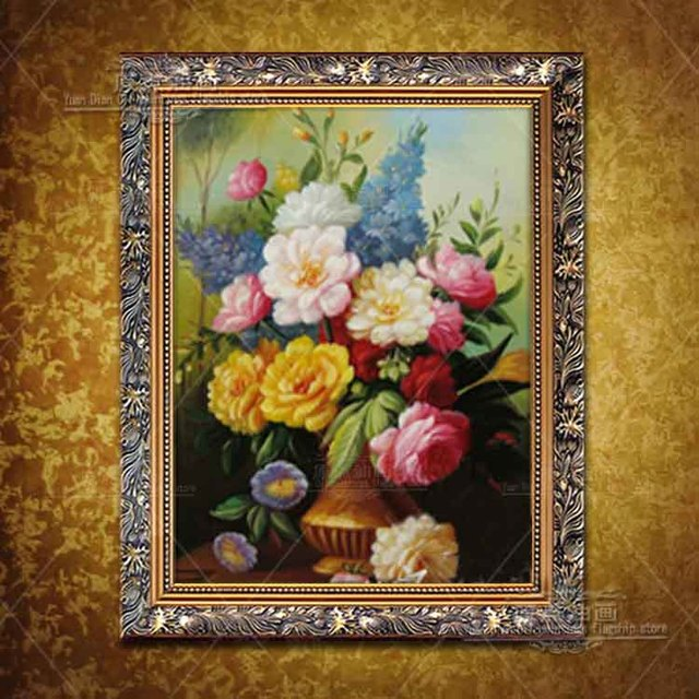 Sunflower Oil Painting Art Flower Handmade Decor Work High Quality Modern Wall Art Oil Painting On Canvas Wall Decor Artworks