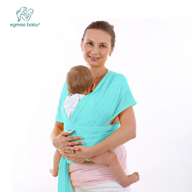In 2018, The Soft And Comfortable Baby Sling Bag With Multi-function Baby Belt Is Suitable For Summer Soft And Elastic Breathabi