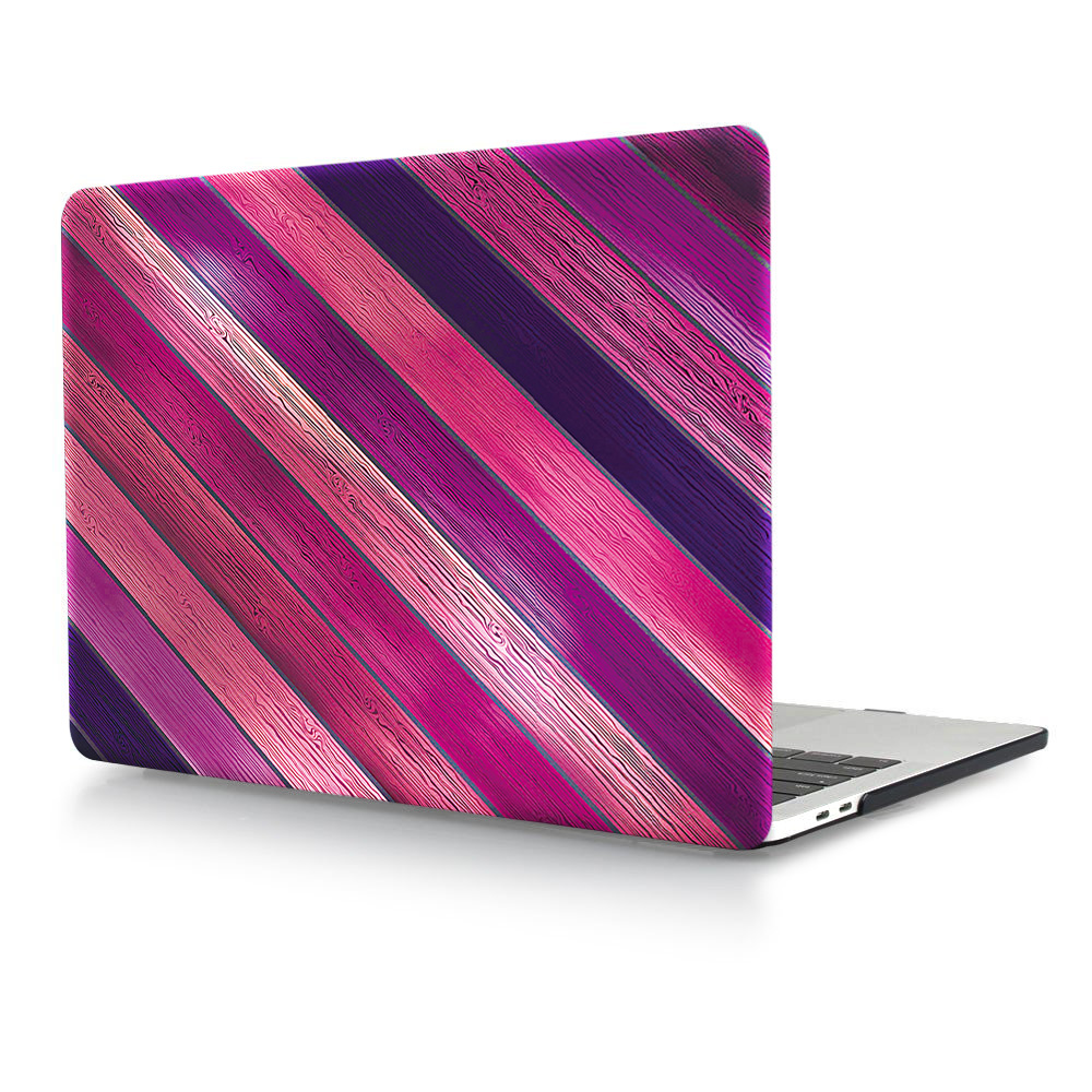 HRH Wood Texture Laptop Shell Protective Hard Plastic PC Case Sleeve for Macbook Air Pro Retina 13 quot 12 quot 15 quot 11 quot Touch Bar 2018Newest in Laptop Bags amp Cases from Computer amp Office