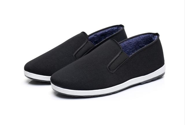 1 пара зима ручной многослойная подошва TaiChi единоборства обувь Китай Винтаж кунг-фу ушу обувь Боевых Искусств Обувь