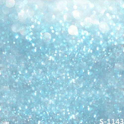 8x8ft Light Blue Glitter Wall Gray Spots Light Custom